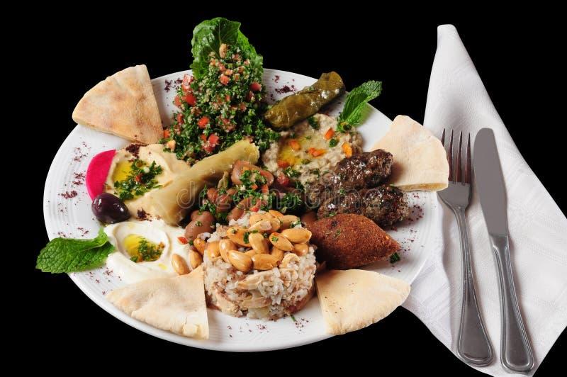 阿拉伯食物。 库存图片