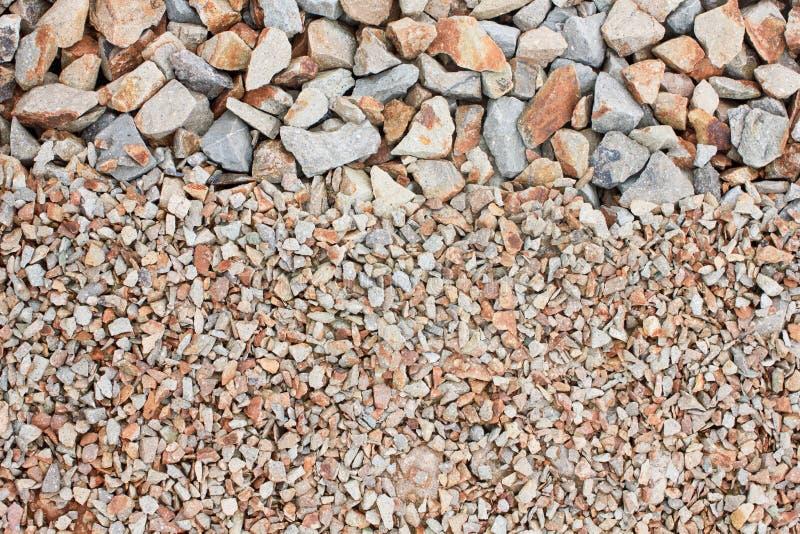 混杂的石渣 图库摄影