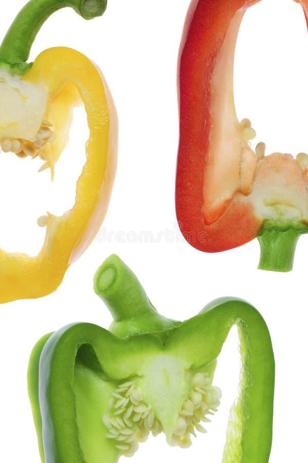 混杂的胡椒 免版税库存图片