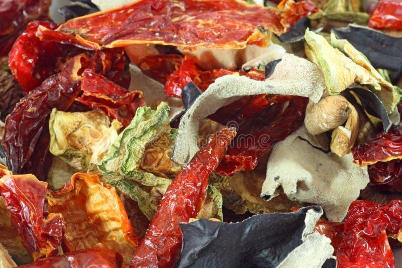 混杂的蔬菜 库存照片