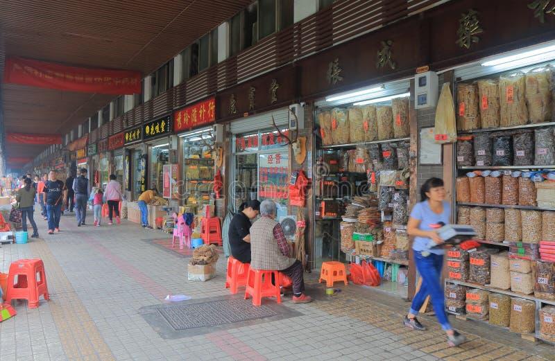 清宫砰街市广州中国 免版税库存照片