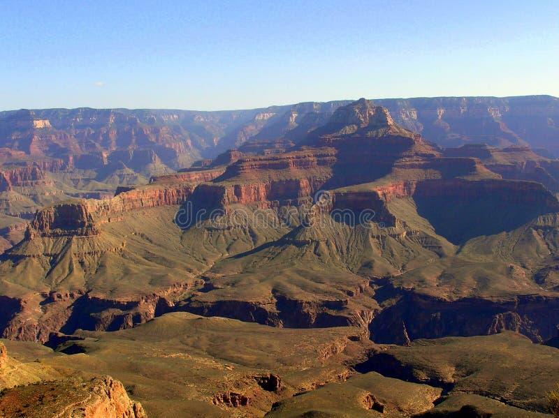 在大峡谷的日出-从Mather点的看法 图库摄影