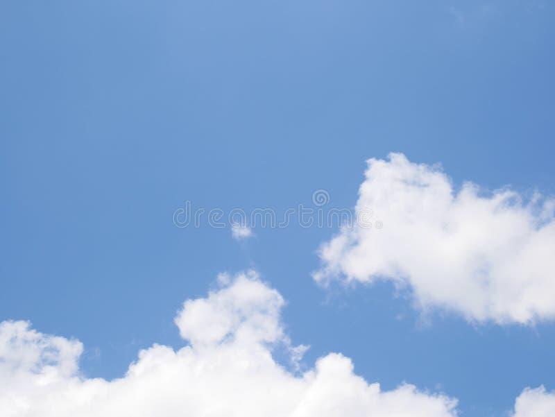清楚的天空 免版税库存图片