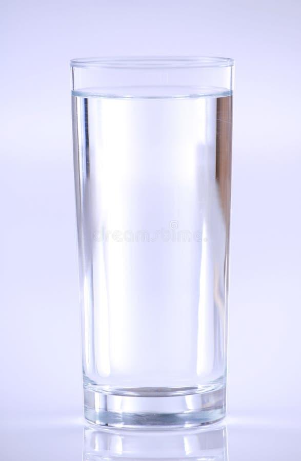 清楚的玻璃水 库存照片