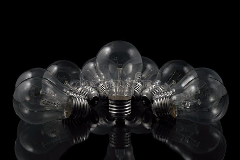 清楚的电灯泡 免版税图库摄影