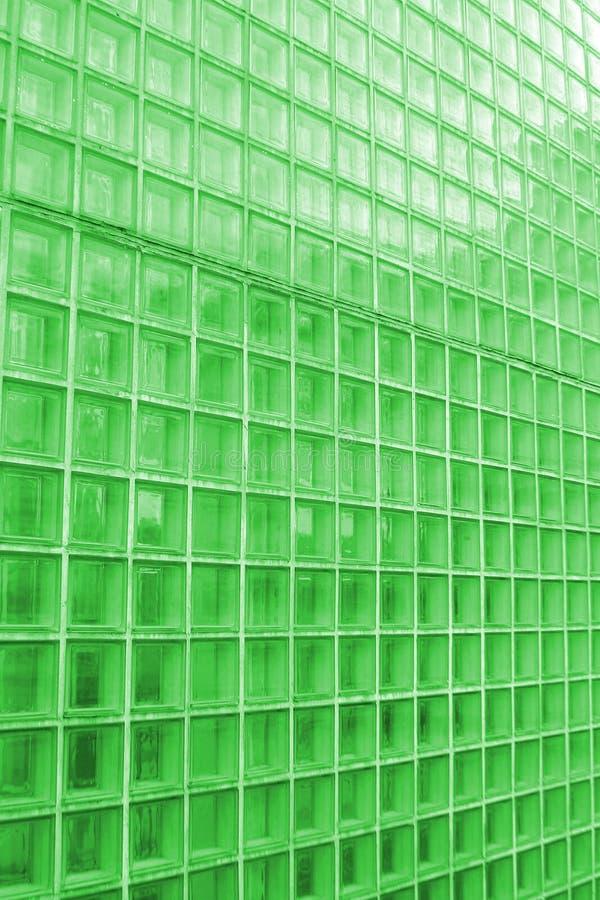 清楚的绿色纹理瓦片设色了 免版税库存图片