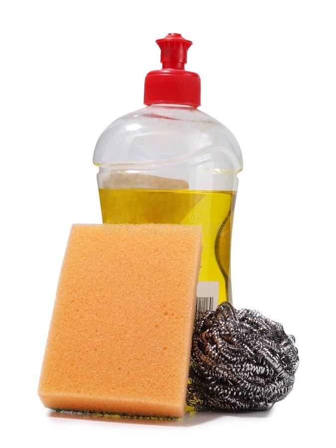 清洁产品一 库存图片