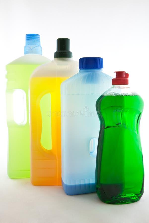 清洁产品 免版税库存照片