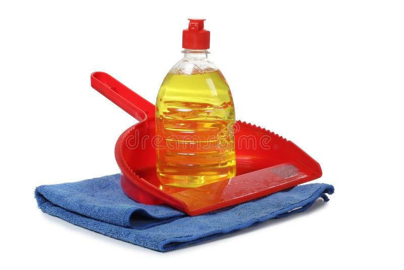 清洁化学制品一 免版税库存照片