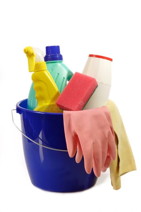 清洁工具 免版税库存图片
