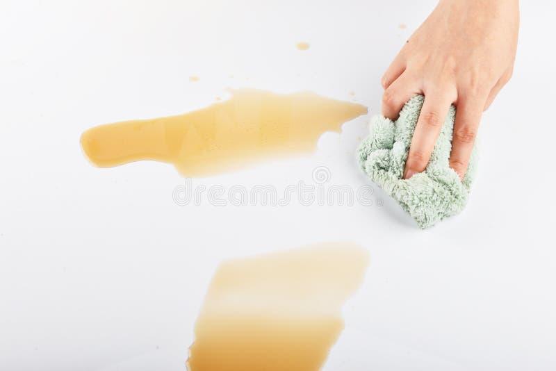 清洁布厨房清洁布汽车清洁家庭清洁洗碗布 库存图片