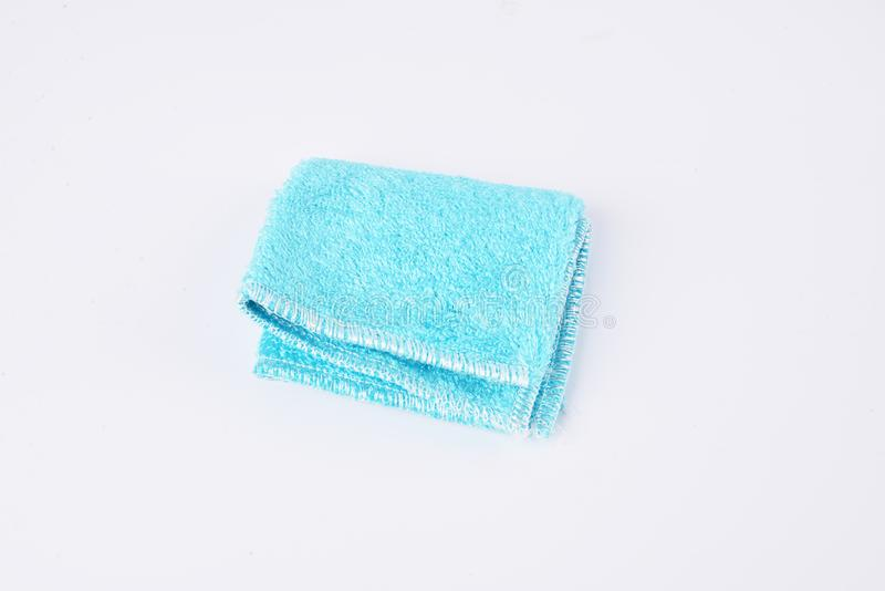 清洁布厨房清洁布汽车清洁家庭清洁洗碗布 免版税图库摄影