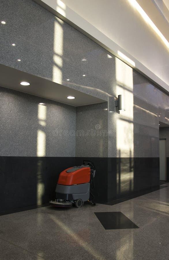 清洁楼层设备 免版税库存照片