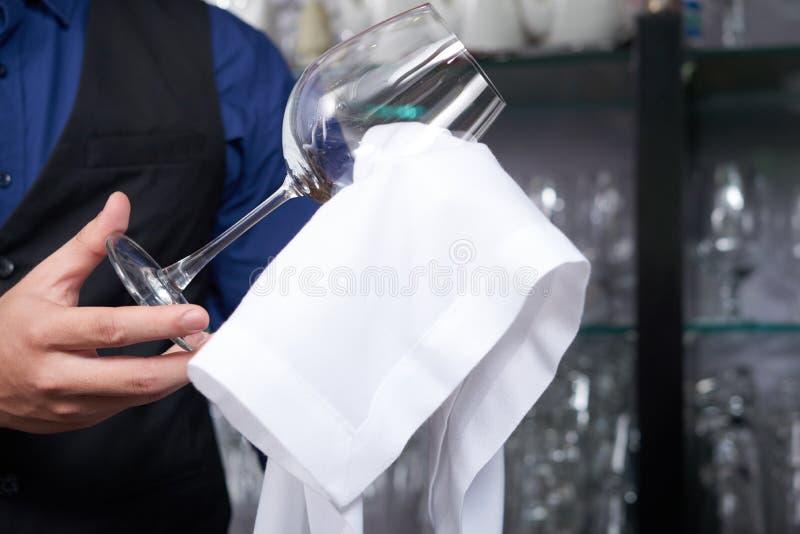 清洁玻璃 库存照片