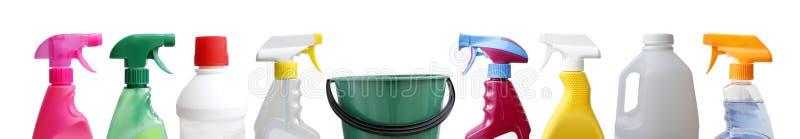 清洁瓶 免版税库存照片