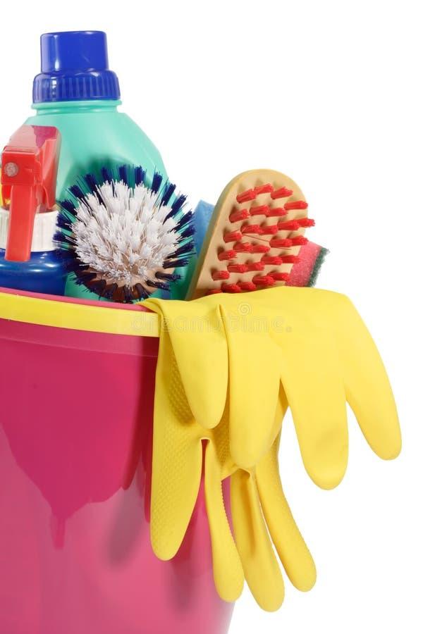 清洁设备 免版税库存照片