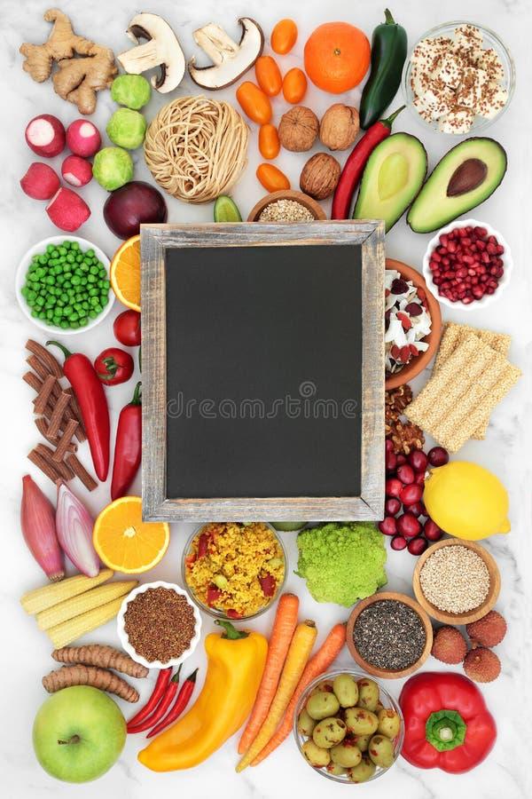 清洁食用素食保健食品 库存图片