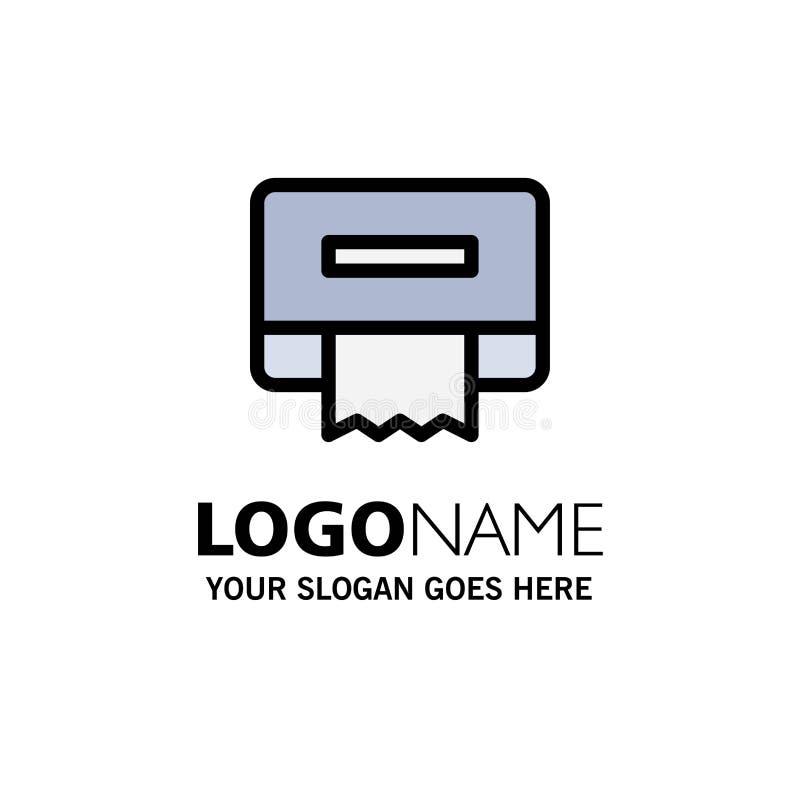 清洁,纸,组织企业商标模板 o 库存例证