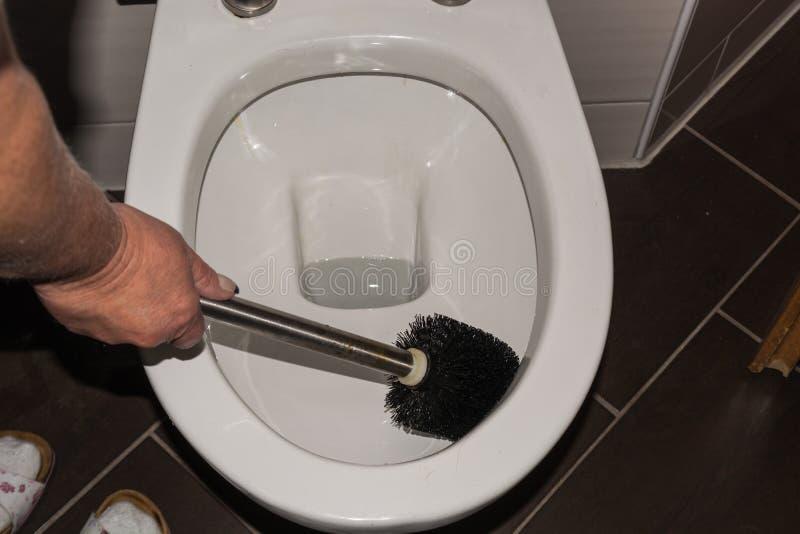 清洗从洗手间 库存图片
