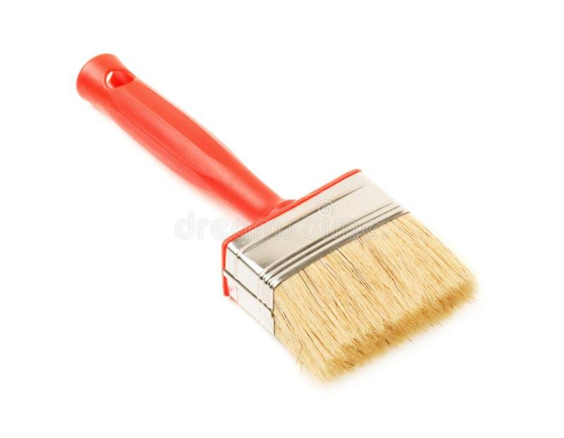 清洗新的油漆刷 库存照片