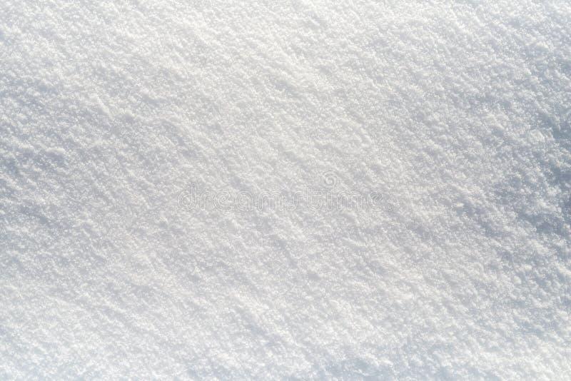 清洗雪白雪背景 免版税库存图片