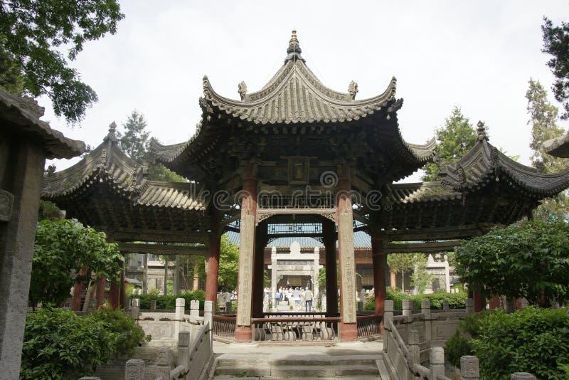 清真大寺在西安 免版税库存图片