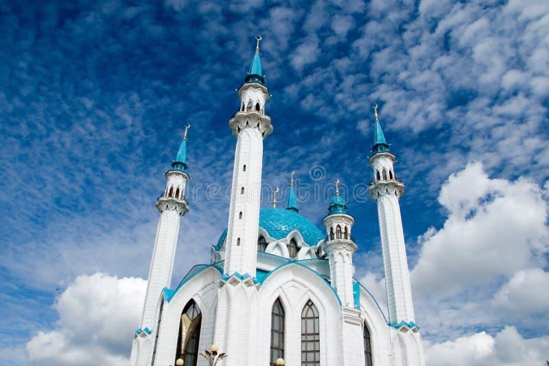 清真寺。 喀山 免版税库存照片