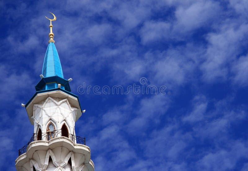 清真寺。 喀山 免版税库存图片