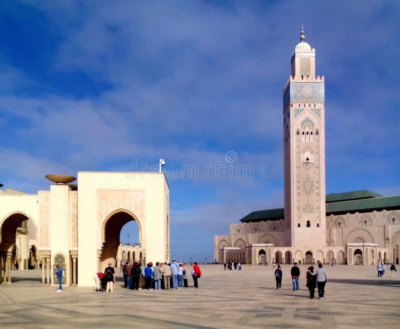 清真寺哈桑II 库存照片