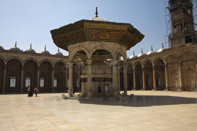 清真寺围场 图库摄影