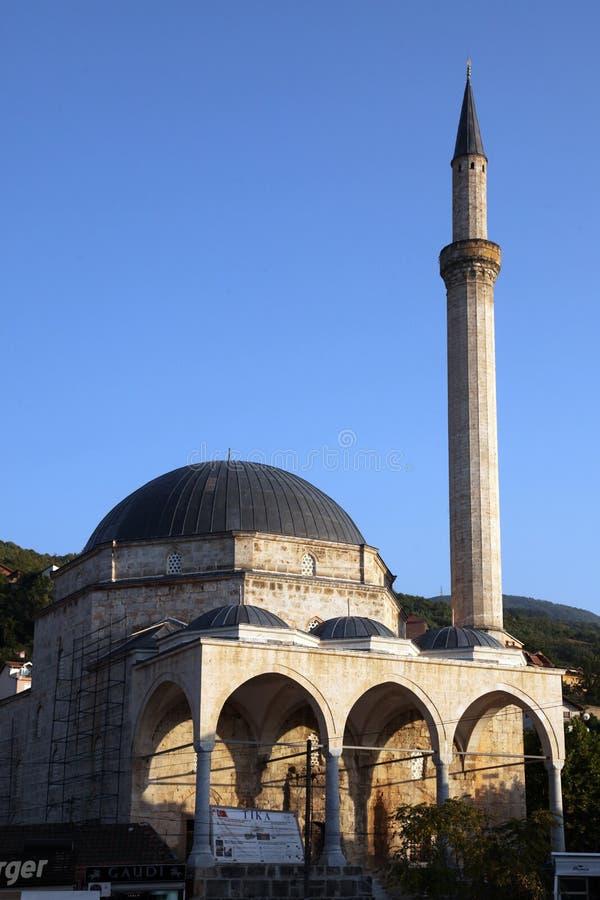 清真寺在普里兹伦,科索沃 免版税库存照片