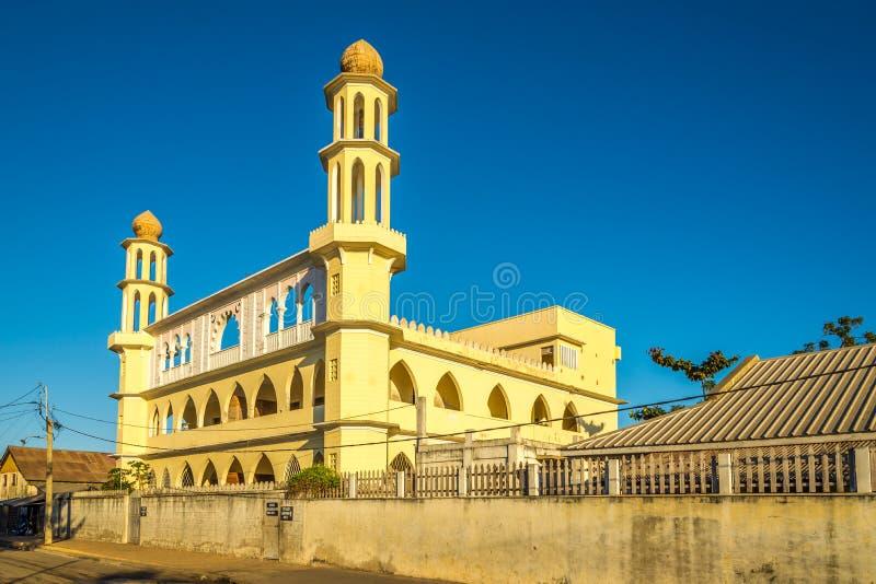 清真寺在穆龙达瓦 库存照片