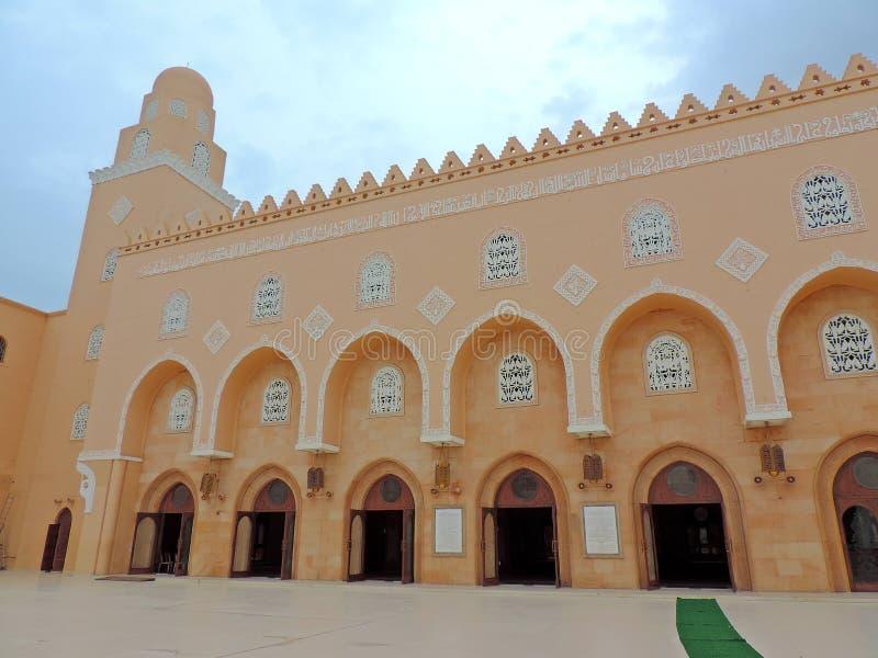 清真寺在苏拉特 免版税库存图片