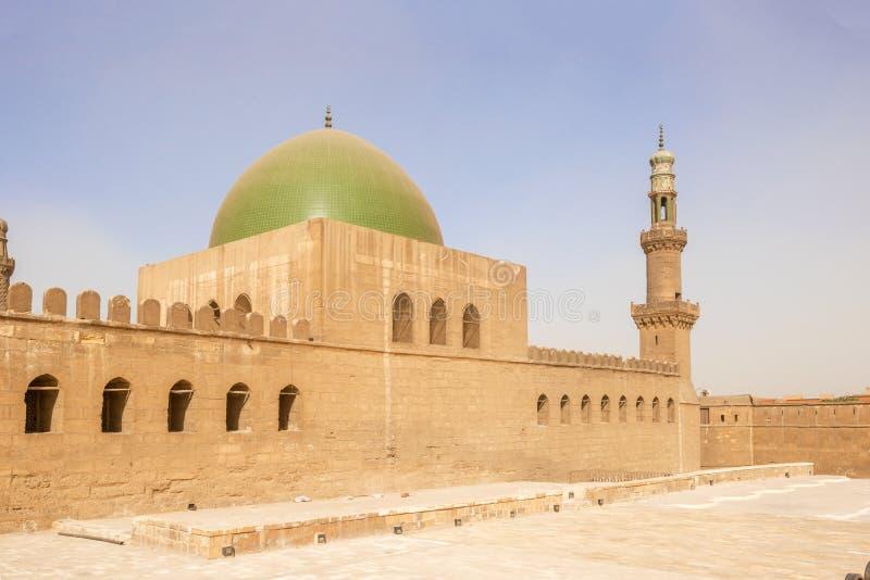清真寺在萨拉丁城堡在开罗,埃及 图库摄影