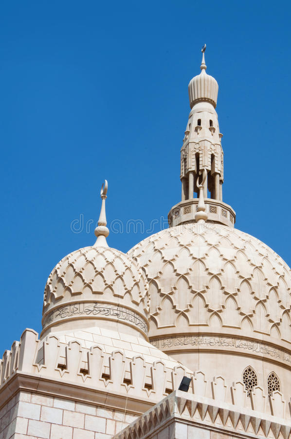 清真寺在迪拜 库存照片