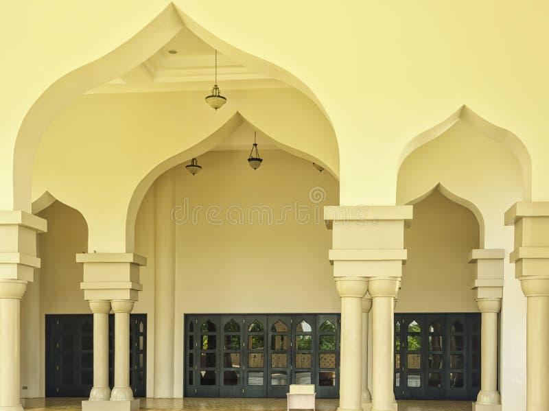 清真寺弧 库存图片
