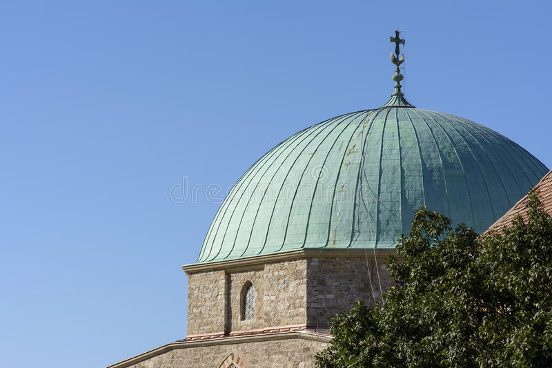 清真寺的圆顶 免版税库存照片