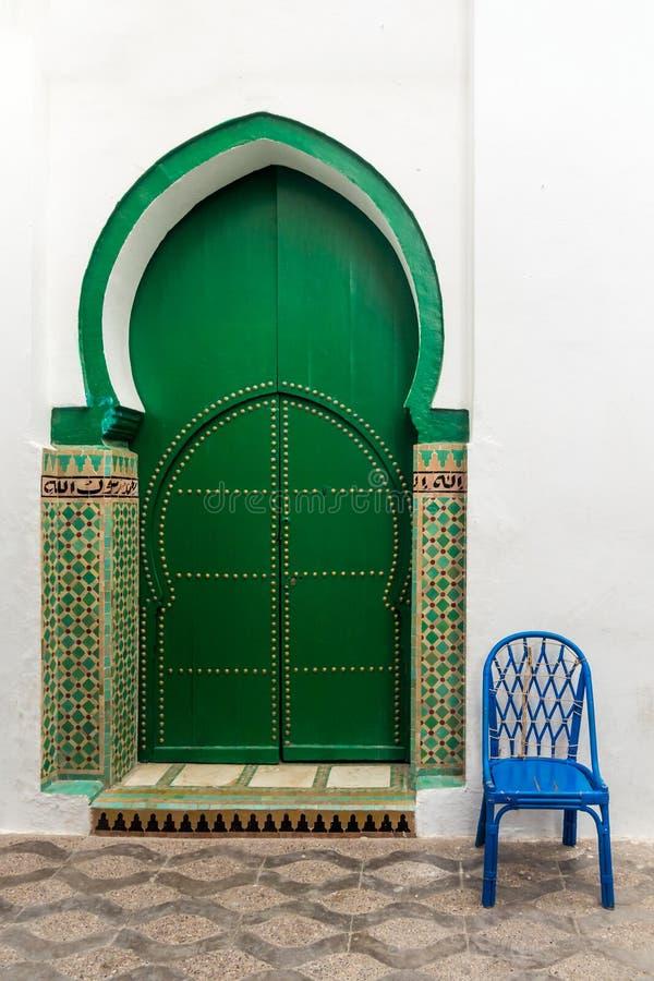 清真寺的门 库存照片