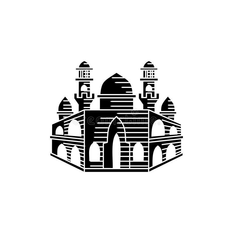清真寺象传染媒介例证设计模板 向量例证