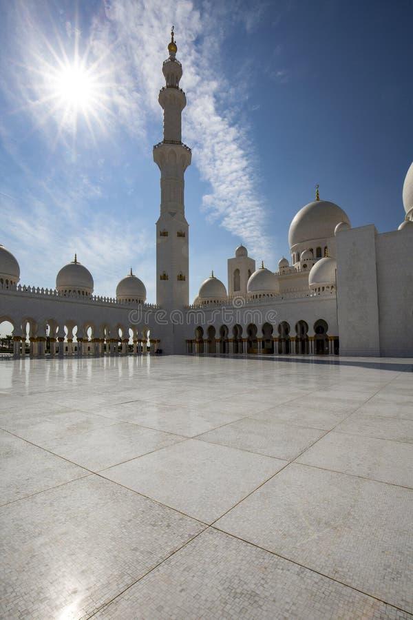 清真寺阿拉伯联合酋长国 免版税库存图片