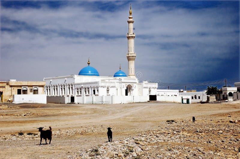 清真寺阿曼 免版税库存图片