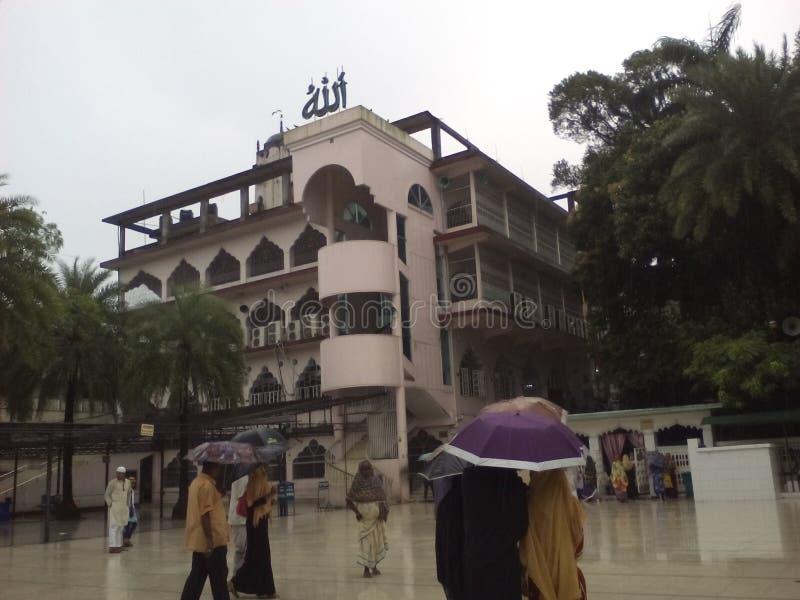 清真寺,孟加拉国 库存照片