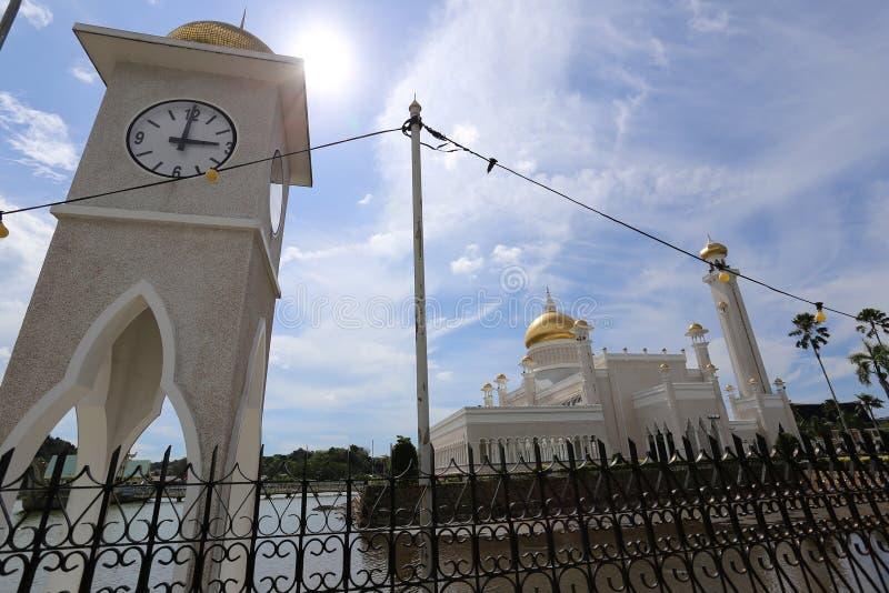 清真寺,文莱 免版税库存图片