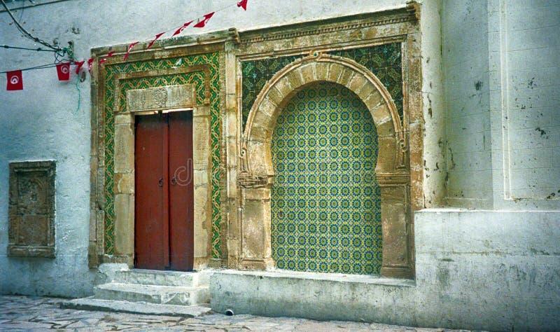 清真寺,马赫迪耶,突尼斯 库存照片