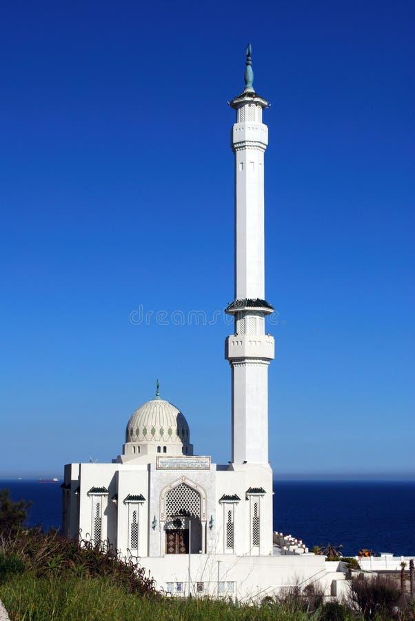 清真寺,直布罗陀 免版税库存照片