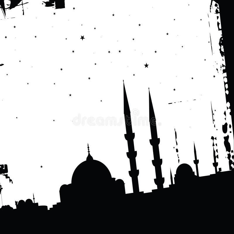 清真寺 向量例证