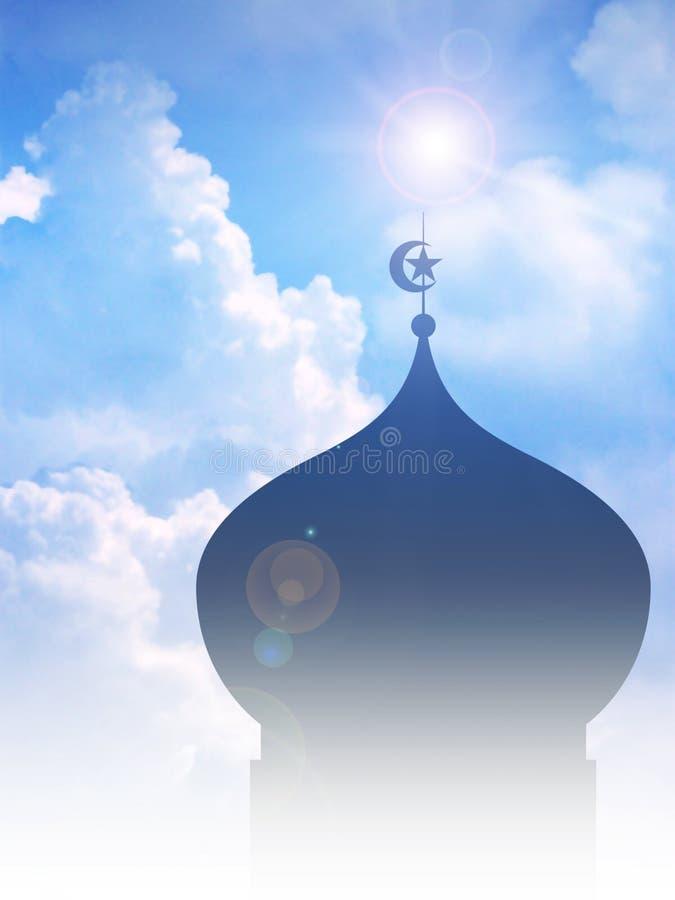 清真寺 皇族释放例证