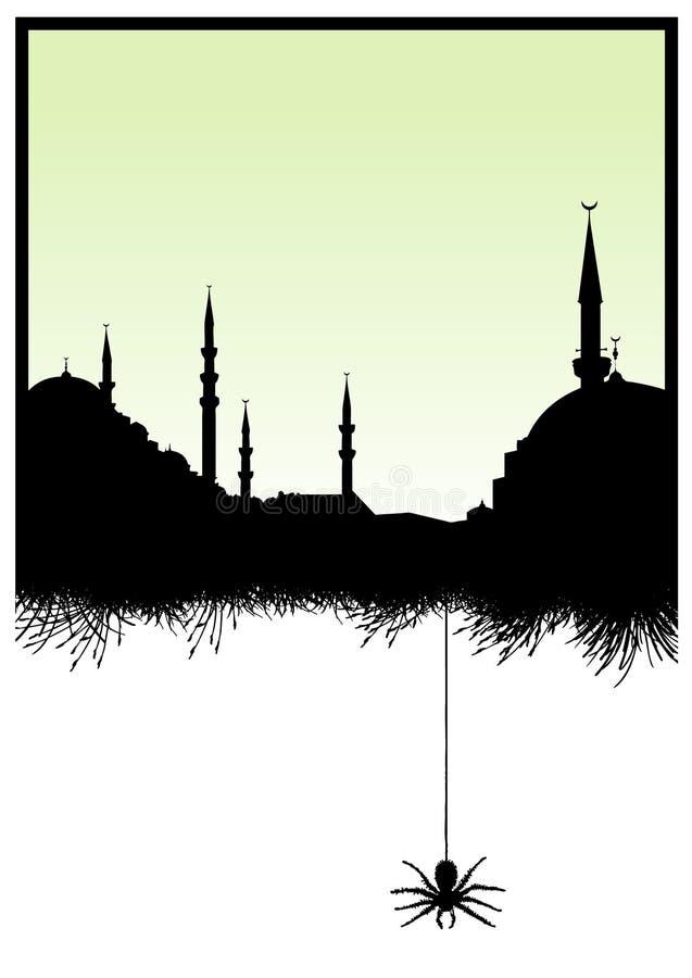 清真寺 库存例证