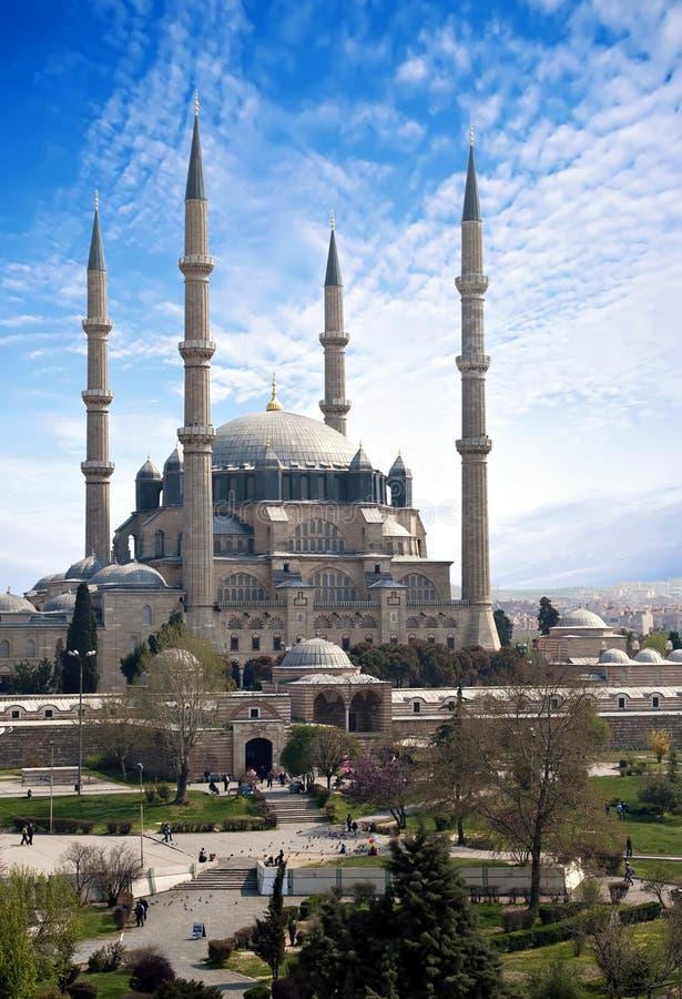 清真寺selimiye 图库摄影