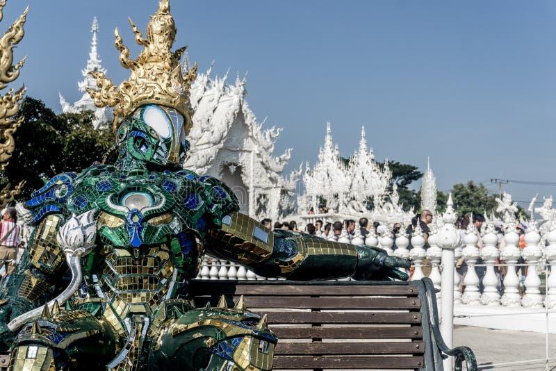 清莱,泰国 库存照片